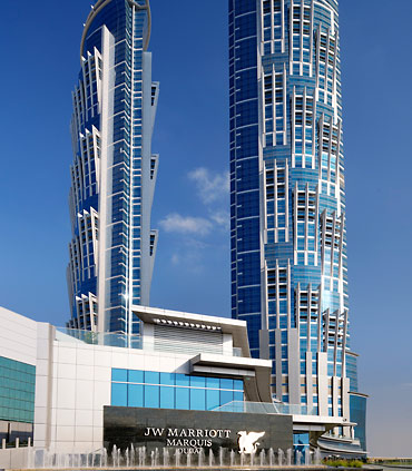 JW Marriott Opens World's Tallest Hotel In Dubai